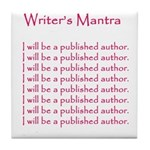 Romance Writers Tile Coaster