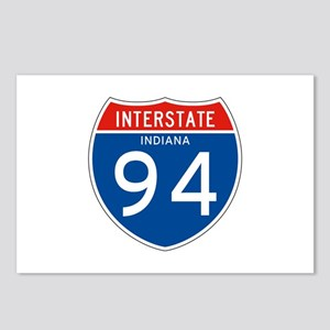 Interstate 94 - IN Postcards (Package of 8)