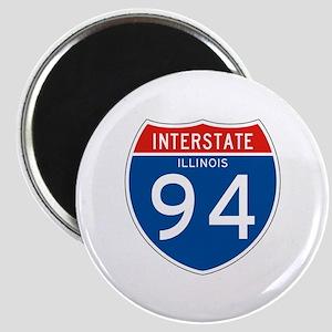 Interstate 94 - IL Magnet
