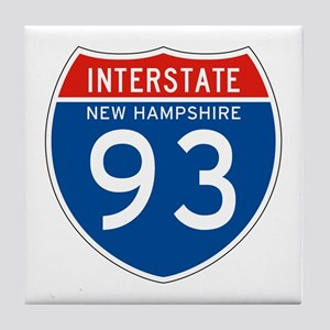 Interstate 93 - NH Tile Coaster