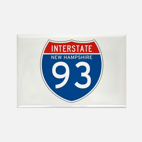 Interstate 93 - NH Rectangle Magnet