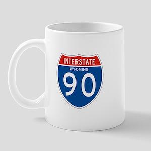 Interstate 90 - WY Mug