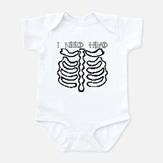 I NEED HEAD Infant Bodysuit