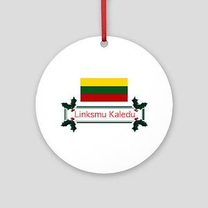 Lithuania Linksmu... Ornament