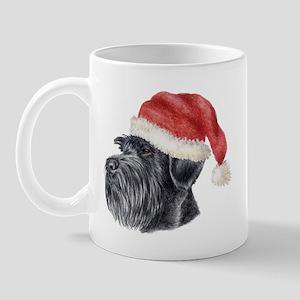 Christmas Giant Schnauzer Mug