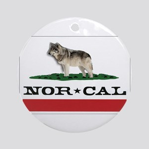Nor Cal Wolfdogs Ornament (Round)