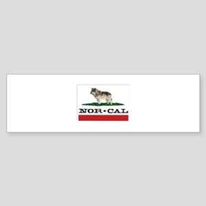 Nor Cal Wolfdogs Bumper Sticker