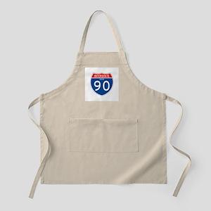 Interstate 90 - OH BBQ Apron