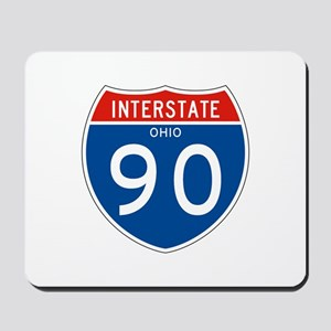 Interstate 90 - OH Mousepad
