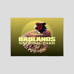 Badlands NP 5'x7'Area Rug