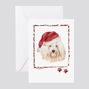 Happy Holidays Havanese Greeting Cards