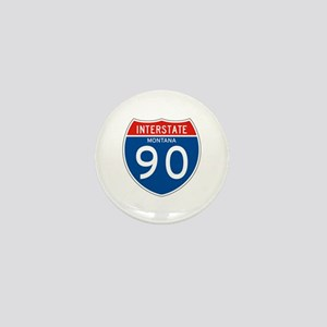 Interstate 90 - MT Mini Button