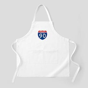 Interstate 90 - MT BBQ Apron