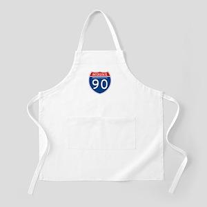 Interstate 90 - MA BBQ Apron