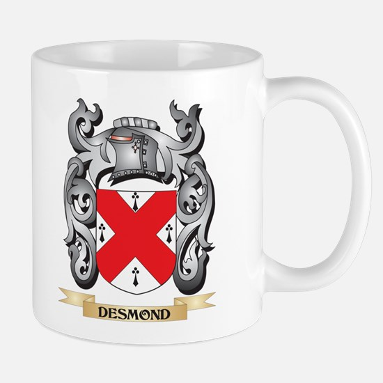Desmond Coat of Arms - Family Crest Mugs