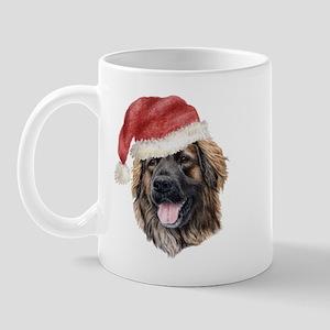 Christmas Leonberger Mug