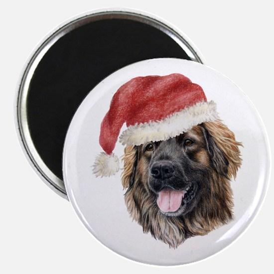Christmas Leonberger Magnet