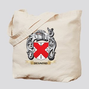 Desmond Coat of Arms - Family Crest Tote Bag
