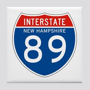 Interstate 89 - NH Tile Coaster