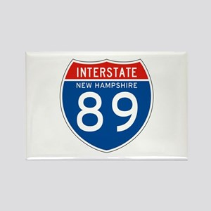 Interstate 89 - NH Rectangle Magnet