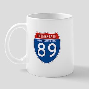 Interstate 89 - NH Mug