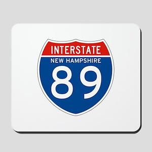 Interstate 89 - NH Mousepad