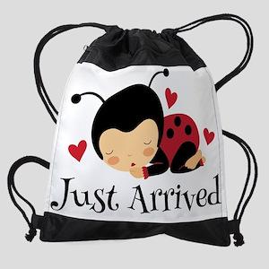 Just Arrived Ladybug Baby Drawstring Bag
