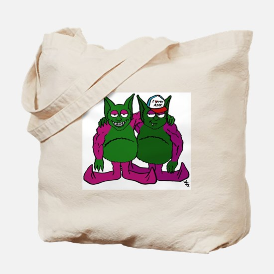Gremlin Graffiti Tote Bag