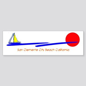 San Clemente City Bumper Sticker