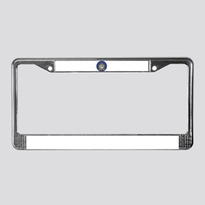 Interpol License Plate Frame