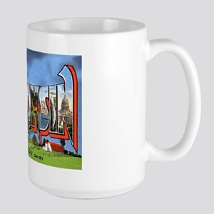 Wisconsin Greetings Large Mug