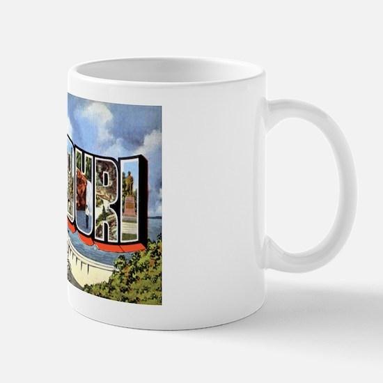 Missouri Greetings Mug