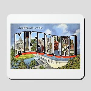 Missouri Greetings Mousepad