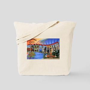 Massachusetts Greetings Tote Bag