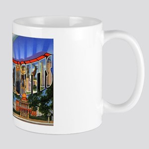 Massachusetts Greetings Mug