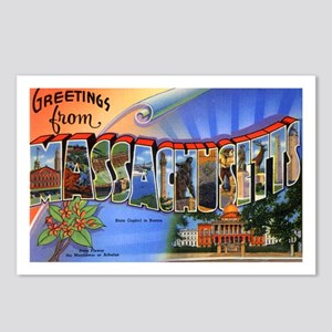 Massachusetts souvenirs gifts cafepress massachusetts greetings postcards package of 8 negle Image collections