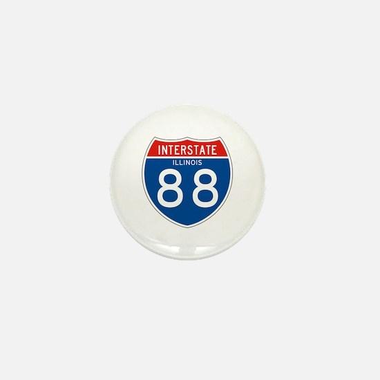 Interstate 88 - IL Mini Button