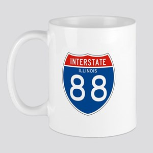 Interstate 88 - IL Mug