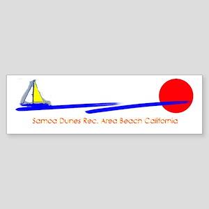 Samoa Dunes Bumper Sticker