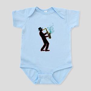 Saxophone Player Infant Bodysuit