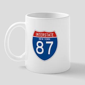 Interstate 87 - NY Mug