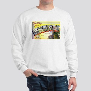 Michigan Greetings (Front) Sweatshirt