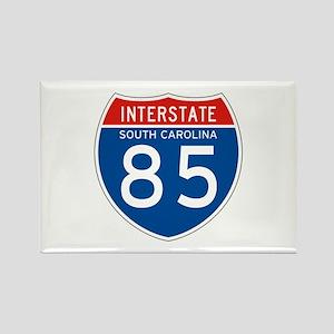 Interstate 85 - SC Rectangle Magnet