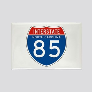 Interstate 85 - NC Rectangle Magnet