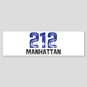 212 Bumper Sticker