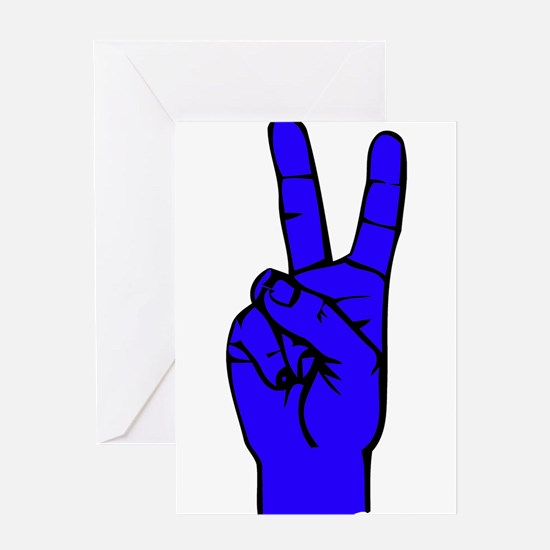 Sign Language 2 e1 Greeting Card