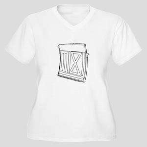 Romanian PSL/FPK Magazine Plus Size T-Shirt