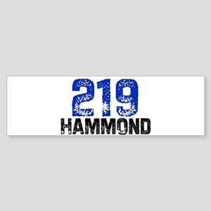 219 Bumper Sticker