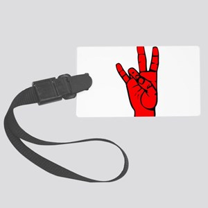 Sign Language 7 e1 Luggage Tag