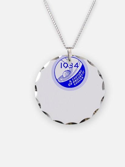 1934 Chicago Worlds Fair Des Necklace